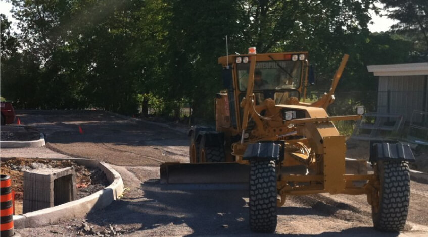 parking lot paving Woodbridge VA